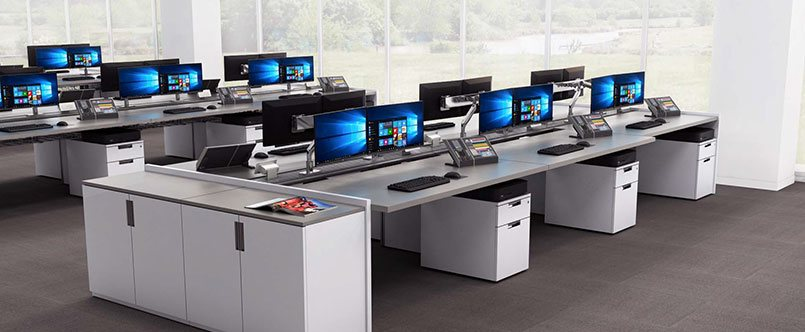 Be Flexible and Adaptable with Open Office Benching