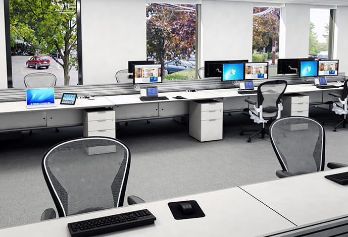 The Benefits of Open Office Benching